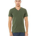 Unisex Jersey Short-Sleeve V-Neck T-Shirt