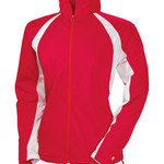 Ladies' Hook Brushed Tricot Polyester Full Zip Jacket
