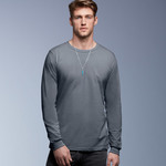 Adult Long-Sleeve Fashion Fit Cotton Tee