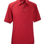 Men's ClimaLite® Piped Color Block Polo