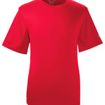 Adult Double Dry® Interlock Polyester T-Shirt