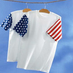 Adult Jersey Stars & Stripes Tee