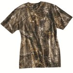 Realtree® Camouflage Short Sleeve T-Shirt with a Pocket