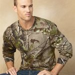 Realtree Camouflage Long Sleeve T-Shirt