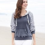 Women's Angel Fleece Sanded Piper Pullover
