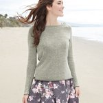Women's Katilyn Gauze Knit Long Sleeve Pullover