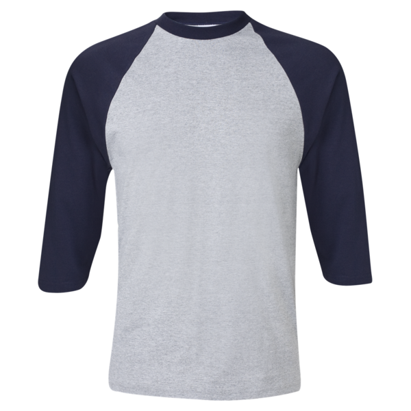three quarter sleeve raglan baseball t shirt t shirt king inc custom printing embroidery - Baseball T Shirt Designs Ideas